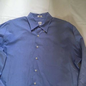 Peter Millar Mens Shirt Button Up Long Sleeve XL